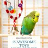best toys for budgies