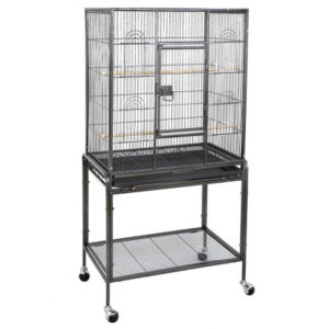 ZENY Bird Cage with Stand Wrought Iron Construction 53-Inch Pet Bird Cage Play Top Parrot Cockatiel Cockatoo Parakeet Finches Birdcage